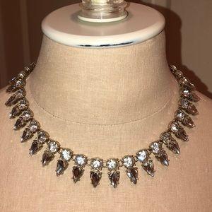 Lovely J.Crew Rhinestone necklace